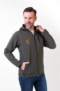 Kurtka SOFTSHELL FISHING z kapturem